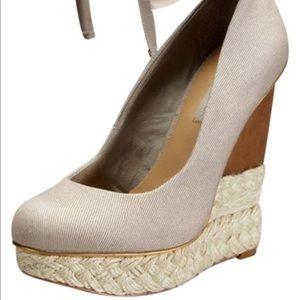 Babygirl wedge heels gently used